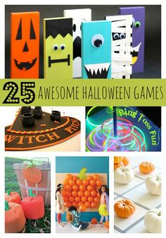 25 Awesome Halloween Party Games via Pretty My Party