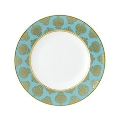 Royal Crown Derby Bristol Belle Turquoise Dinnerware   Gracious Style