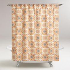 Medallion Julianna Shower Curtain | World Market