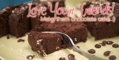 Healthy Chocolate Cake? YES PLEASE! From Karena and Katrina at www.toneitup.com