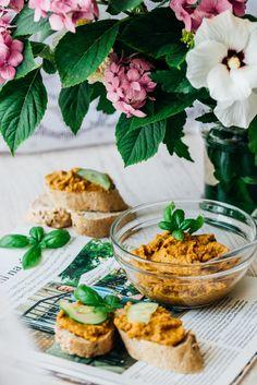 zeleninová nátierka, zdravé recepty z cukety, čo s cuketou, cuketová nátierka, cuketové recepty