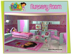dora bedroom decorations | Dora Bedroom Decor Ideas Dora Bedroom Decor