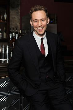 Tom Hiddleston attends an after party celebrating the press night performance of 'The Curious Incident of the Dog in the Night-Time' at Century on March 12, 2013 in London, England [HQ]