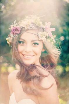 headband de flores