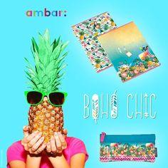 Este verão a temperatura vai subir com o padrão tropical da coleção #BOHO_CHIC! Love it?