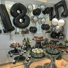 18th Birthday Party, Birthday Party Decorations, It's Your Birthday, Happy Birthday, Sewing Room Organization, Over The Hill, Ideas Para Fiestas, Sweet 16, Rustic Wedding