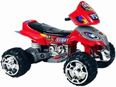 12 volt Electric Ride on quad, Atv, 4 wheeler for kids Cool Toys For Boys, Best Kids Toys, Cool Kids, Cool Sculpting, 4 Wheelers, Atv, Tricycle, Quad, Cool Stuff