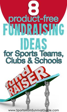 Product-Free Fundraising Ideas Tired selling stuff for fundraisers? Try a Product-Free Fundraising idea with your sports team, club or school.Tired selling stuff for fundraisers? Try a Product-Free Fundraising idea with your sports team, club or school.