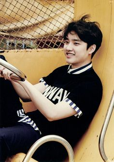 D.O.in EXO's 'Love Me Right' teaser