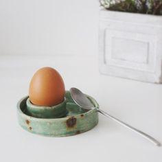 4 Pièces De Coquetier En Plastique Cuisinier Aide Plastic Egg Set Blanc