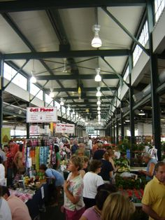 Syracuse Regional Farmer's Market    Miss this! Can't wait to go when I visit