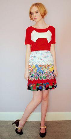Lu Flux Plume Skirt