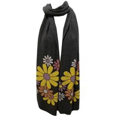Wildfox Bianca Scarf in Clean Black ($56) ❤ liked on Polyvore