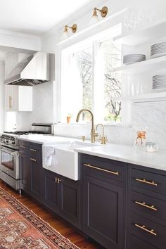 Today, I am sharing a roundup of all of my kitchen designs, plus some of my favorite kitchen inspirations from Enjoy! Today, I am sharing a roundup of all of my kitchen designs, plus some of my favorite kitchen inspirations from Enjoy! Kitchen Inspirations, New Kitchen, Classic Kitchens, Kitchen Decor Inspiration, Kitchen Marble, Kitchen Design, Kitchen Remodel, Kitchen Renovation, Kitchen Dining Room
