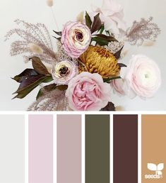 today's inspiration image for { color flora } is by . thank you, Heather, for another gorgeous image share! Colour Pallette, Colour Schemes, Color Combos, Flora Design, Color Balance, Design Seeds, Color Stories, Christmas Colors, Color Theory