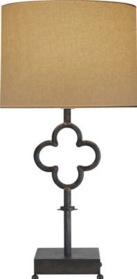 Quatrefoil Table Lamp from Visual Comfort