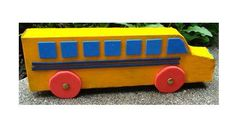 Recycled School Bus   Get your kids excited about school with this back-to-school craft!