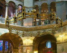 Barbarossaleuchter - Cappella Palatina di Aquisgrana - Wikipedia