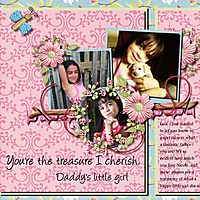 Done for May 1-15 Template Challenge  Kit Kathy Winters Designs Butterflies in Bloom  http://store.gingerscraps.net/Butter...om-Bundle.html