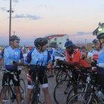 Team plots the Ride!
