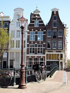 Amsterdam Buildings by Swapartment, via Flickr