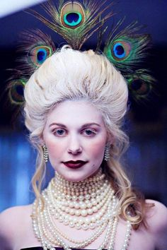 diy 1700 wig from a synthetic wig - Google Search