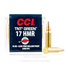 CCI 17 HMR Ammo - 50 Rounds of 16 Grain HP Ammunition #17HMR #17HMRAmmo #CCI #CCIAmmo #CCI17HMR #HPAmmo
