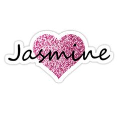 """Jasmine"" Stickers by Obercostyle 