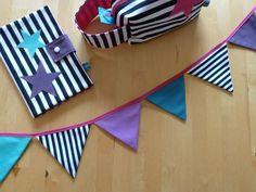 binedoro Blog ⎟ DIY ⎟ Wimpelkette nähen (Tutorial)