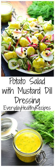 Potato Salad with Mustard Dill Dressing