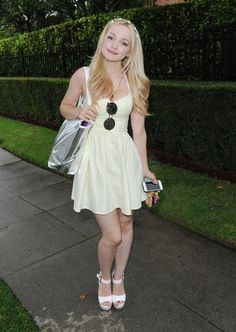 Dove Cameron attends the Just Jared's Summer Bash Pool Party 2015 on July 18, 2015 in Los Angeles, California.