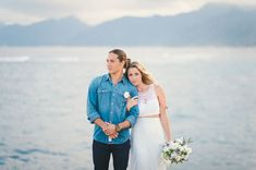I think we're all guilty of dreaming of running off to a beautiful, exotic location – like Hawaii – to secretly elope. It sounds so dreamy to find a secluded spot where the surf meets the sand to quietly exchange your vows. For those of you who are making your dreams a reality, we're excited to share this beautiful […]