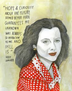 """The Reconstructionists - via Design Crush : """"Watch The Reconstructionists – a collaboration between illustrator Lisa Congdon and writer Maria Popova – unfold over the next year! Every Monday a new remarkable woman will be celebrated in color and words."""" Definitely!"""