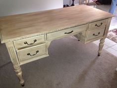 Refurbished desk