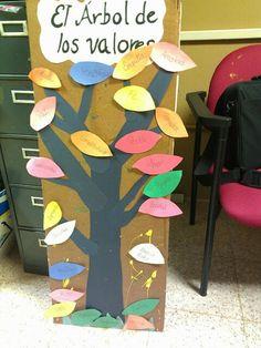DIY  árbol de los valores