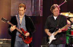 Doyle Bramhall II with Eric Clapton