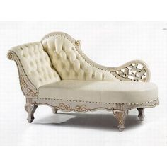 Victorian Chaise-Longue ❤ liked on Polyvore featuring furniture, interior, chaise, decor and fillers