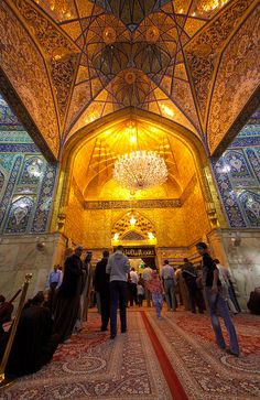 Islam-Shrine of Imam Hussain A.S, Irak-  Karbala by Hussain Isa, via Flickr
