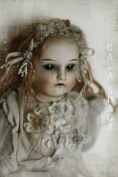antque head doll by Gala Smaga