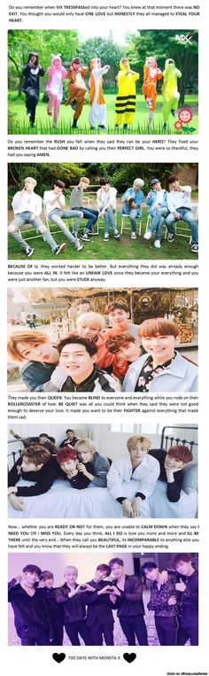 Practically all you need guide to Monsta x songs!