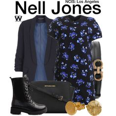 Inspired by Renee Felice Smith as Nell Jones on NCIS Los Angeles.
