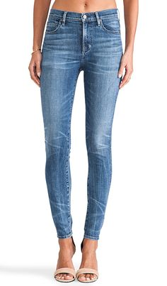 LOVE these jeans.  Citizens of Humanity rocket skinny jeans in maniac wash