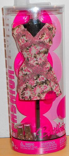 2006 Barbie Fashion Fever Print Summer Dress | eBay