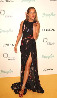 Sylvie Meis At Dreamball At The Ritz-Carlton In Berlin