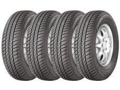 Conjunto de 4 Pneus General Tire 185/70R14 88T - Aro 14 Evertrek RT com as melhores condições você encontra no Magazine Edmilson07. Confira!