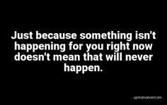 Just because something isn�t