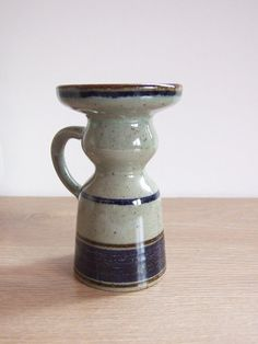 KNABSTRUP Keramik Denmark Candle Holder  // por tiendanordica, $39.00