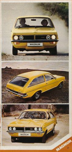 Vauxhall 1977 Classic Cars British, British Sports Cars, Old Classic Cars, Retro Cars, Vintage Cars, Vauxhall Motors, General Motors, Cars Uk, Classic Motors