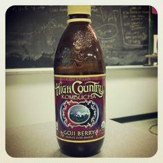 High Country Kombucha - Goji Berry Kombucha Brands, Kombucha Recipe, Organic Brand, Organic Chocolate, Beer Bottle, Berries, Crohn's Disease, Lotions, Drinks