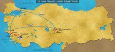 TRAVELSHOP TURKEY - 10 DAYS PRIVATE LUXURY TURKEY TOUR - ISTANBUL ...